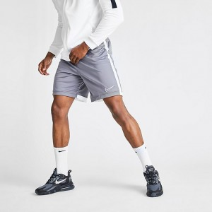 Men's Nike Dri-FIT Academy Soccer Shorts Gunsmoke Sales