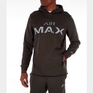 Men's Nike Sportswear Air Max Hoodie Olive Sales