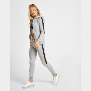 Women's Gym King Poly Jogger Pants Grey Sales