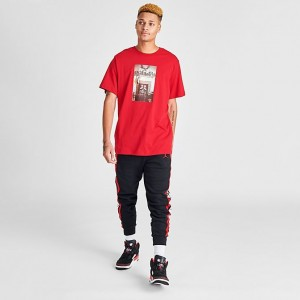 "Men's Jordan ""Air"" Chimney T-Shirt Gym Red Sales"