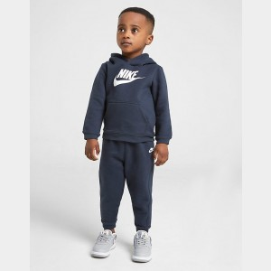 Boys' Infant Nike Hoodie and Pants Set Navy Sales