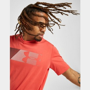 Black Friday 2021 Men's Under Armour Fast Left Chest T-Shirt Red Sales