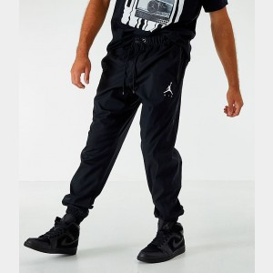 Men's Jordan Jumpman Woven Training Jogger Pants Black Sales