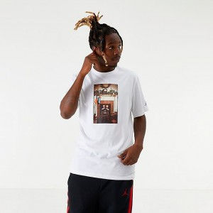 "Men's Jordan ""Air"" Chimney T-Shirt Black Sales"