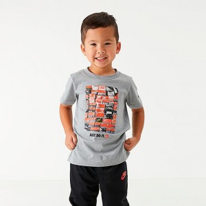 Boys' Toddler Nike Shoe Box T-Shirt Dark Grey Heather Sales