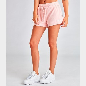 Women's Fila Follie Shorts Pink Sales