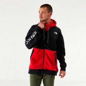 Black Friday 2021 Men's The North Face Graphic Collection Full-Zip Hoodie TNF Red/Black Sales