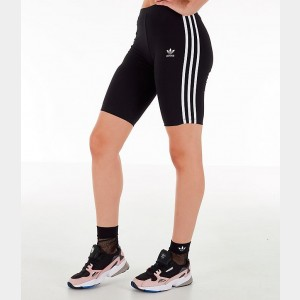Women's adidas Originals Bike Shorts Black/White Sales