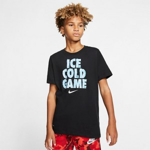 Boys' Nike Dri-FIT Ice Cold Game Training T-Shirt Black Sales
