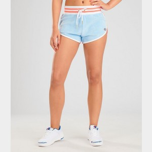 Black Friday 2021 Women's Champion Life Terry Shorts Oceanfront Blue Sales