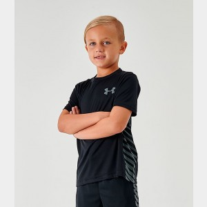 Boys' Under Armour MK-1 T-Shirt Black Sales