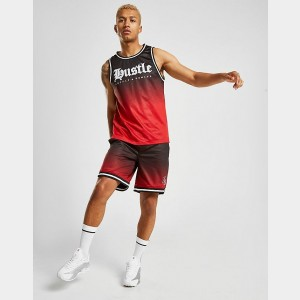 Men's Supply & Demand Pulse Shorts Red Sales