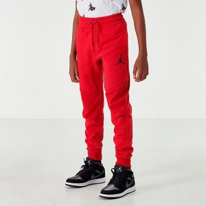 Boys' Jordan Wings Fleece Jogger Pants Gym Red Sales