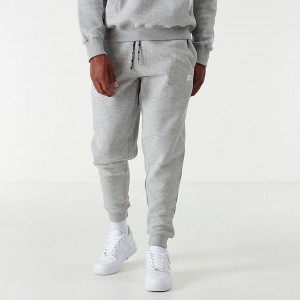 Men's Starter Solid Jogger Pants Grey/White Sales
