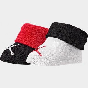 Infant Jordan 2-Pack Bootie Set White/Black Sales