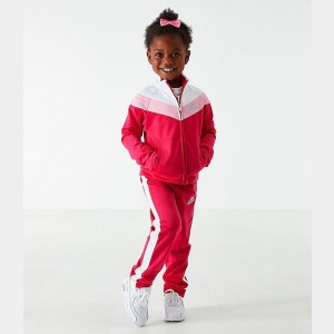 Girls' Toddler Nike Tricot Track Jacket and Pants Set Rush Pink Sales