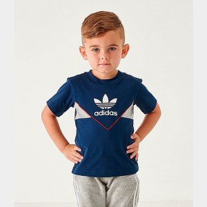 Infant and Toddler Kids' adidas Originals Colorado T-Shirt Navy Sales