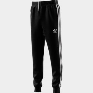 Kids' adidas Originals Track Pants Black/White Sales