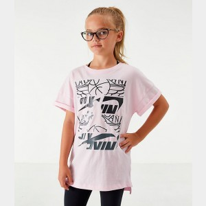 Girls' Jordan Stack Up Oversized T-Shirt Sales
