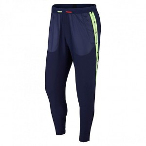 Men's Nike Wild Run Phenom 2 Running Pants Blackened Blue/Habanero Red/Electric Green Sales