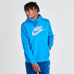 Men's Nike Sportswear Club Fleece Hoodie Photo Blue Sales
