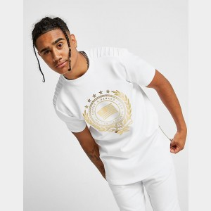 Men's Supply & Demand Glass T-Shirt White/Metallic Sales