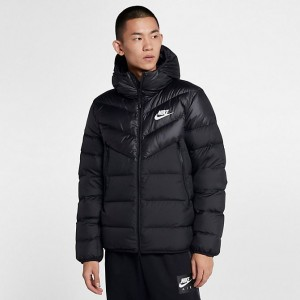 Men's Nike Sportswear Windrunner Down Fill Jacket Black Sales
