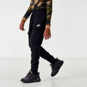 Boys' Nike Sportswear Club Cargo Jogger Pants Black Sales