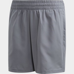 Boys' adidas Club Tennis Shorts Grey Three/Glow Green Sales
