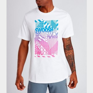 Men's Nike Sportswear T-Shirt White Sales