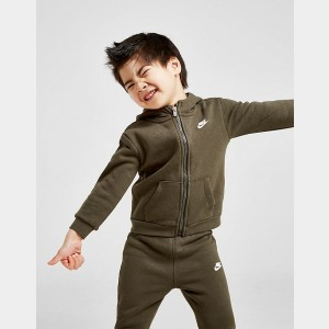Boys' Infant Nike Club Fleece Hoodie and Pants Set Moss Green Sales