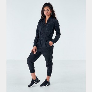 Women's Nike Air Futura Jumpsuit Black/Black Sales