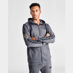 Men's Supply & Demand Dusk Full-Zip Hoodie Grey Sales