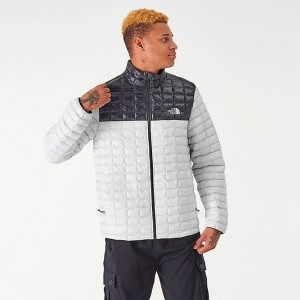 Men's The North Face Thermoball Eco Jacket TNF Grey/Black Sales