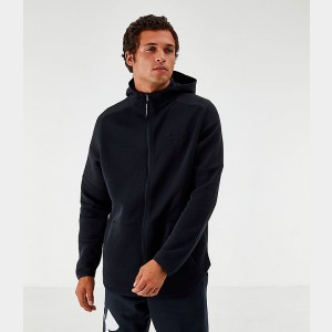 Men's Under Armour Unstoppable Move Light Full-Zip Hoodie Black Sales