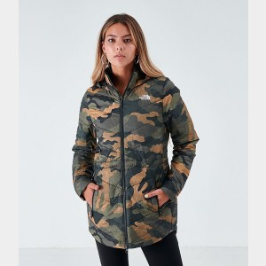 Women's The North Face Tamburello Parka Camo Sales