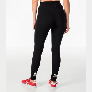 Women's adidas Originals Trefoil Leggings Black Sales