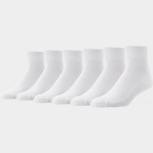 Men's Finish Line 6-Pack Quarter Socks  Sales