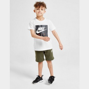 Boys' Toddler and Little Kids' Nike Franchise Shorts Cargo Green Sales