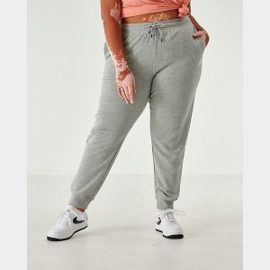 Women's Nike Sportswear Essential Jogger Pants (Plus Size) Grey Heather Sales