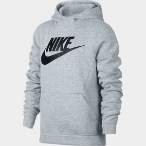 Kids' Nike Sportswear Club Fleece Hoodie Birch Heather Sales