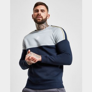 Men's Gym King Sacro Crewneck Sweatshirt Navy Sales