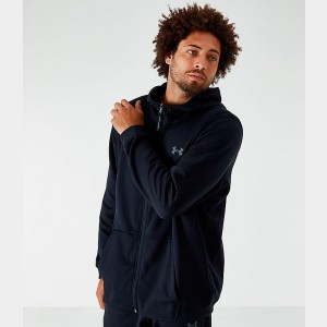 Men's Under Armour Fleece Full-Zip Hoodie Black Sales