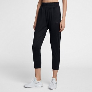 Black Friday 2021 Women's Nike Flow Lux Cropped Pants Black/Clear Sales