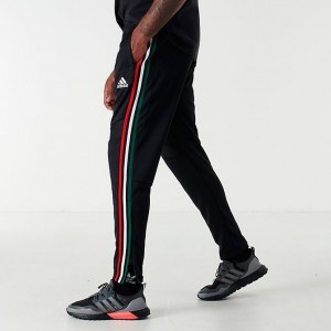 Men's adidas Tiro 19 Training Pants Black/Power Red/White/Collegiate Green Sales