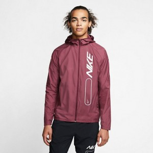 Men's Nike Essential Air Flash Full-Zip Jacket Night Maroon Sales