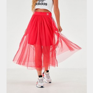 Women's adidas Originals Layered Tulle Skirt Energy Pink Sales