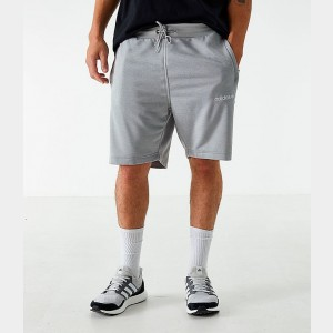 Men's adidas Originals Poly Tape Shorts Grey Sales