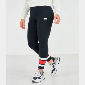 Women's New Balance Athletics Stadium Leggings Black Sales