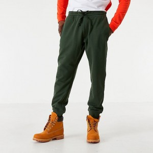 Men's Timberland Scripted Jogger Pants Dark Green Sales